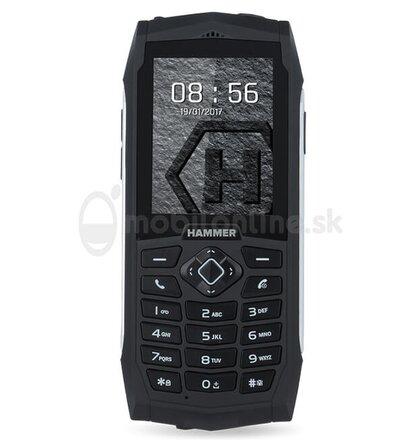 myPhone Hammer 3 Dual SIM, Strieborný