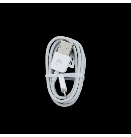 Huawei microUSB Dátový Kábel Biely 1m (Bulk)