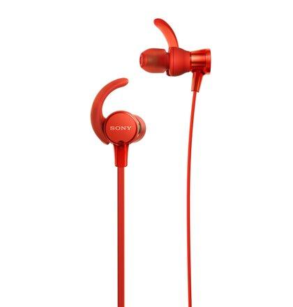 SONY Sluchátka ACTIVE MDR-XB510AS,červená
