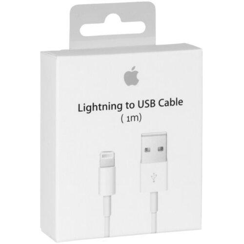 Dátový kábel Original iPhone 5 MD818 Lightning 1m Biely (EU Blister)