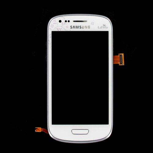 Samsung i8190 Galaxy S3 Mini LaFleur - LCD Displej + Dotyková Plocha + Sklíčko s Rámom