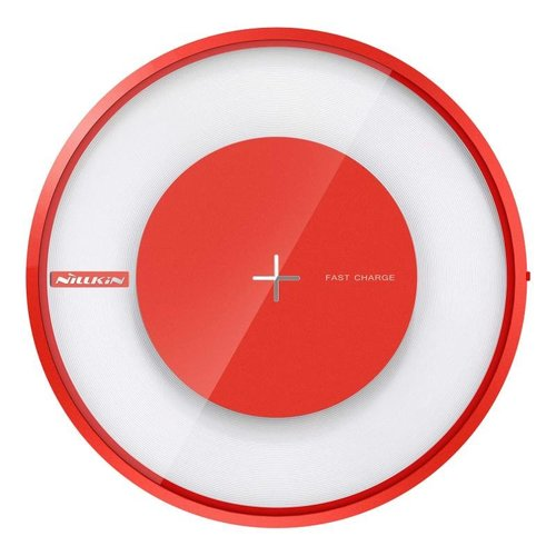 Nillkin Magic Disc 4 Rychlý Bezdrátový Dobíječ Red (EU Blister) 8596311014178