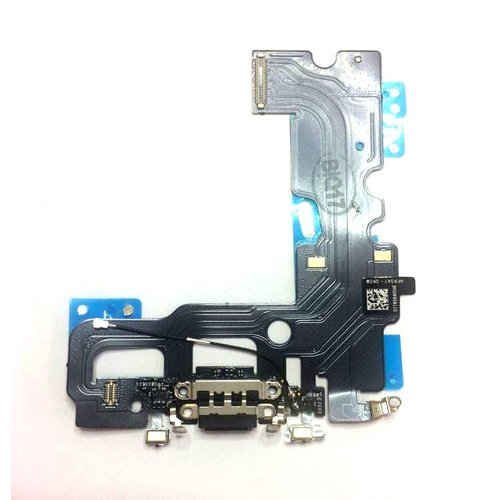 Apple iPhone 7 - Flex Kábel Nabíjacieho Konektora - Čierny