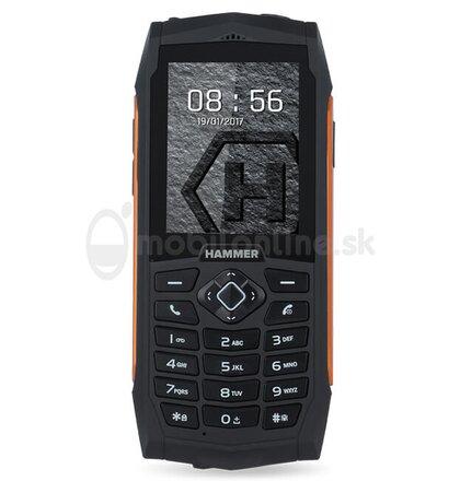 myPhone Hammer 3 Plus Dual SIM, Oranžový