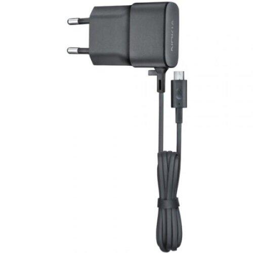 Nabíjačka Nokia AC-20e 3.5W MicroUSB 1.2m Čierna (Bulk)