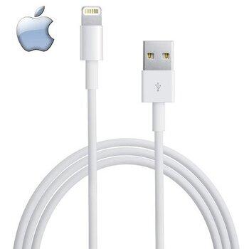 MD818 iPhone 5 Originál Dátový Kábel Biely 1m (Bulk)