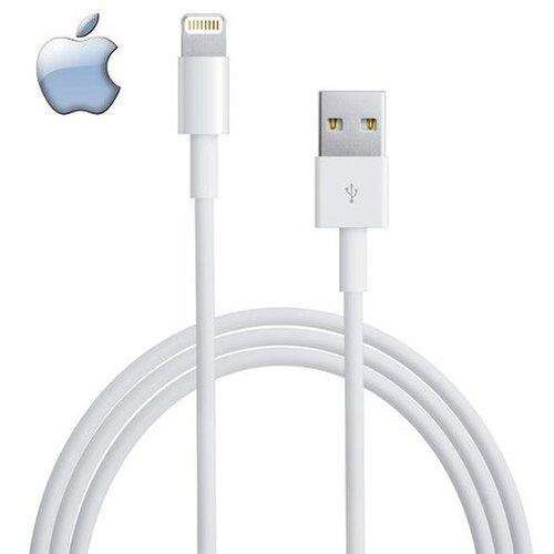 Dátový kábel Original iPhone 5 MD818 Lightning 1m Biely (Bulk)