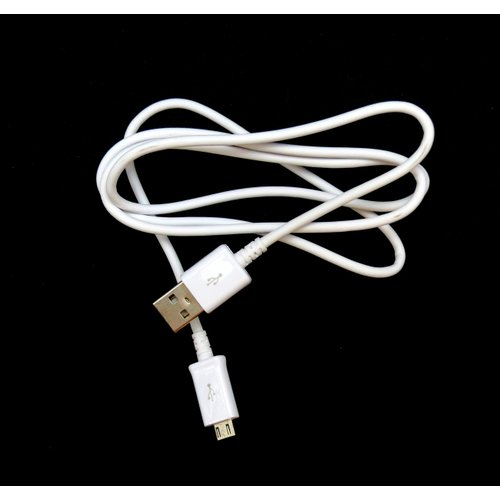 Dátový kábel Samsung ECB-DU4AWE MicroUSB 1m Biely (Bulk)