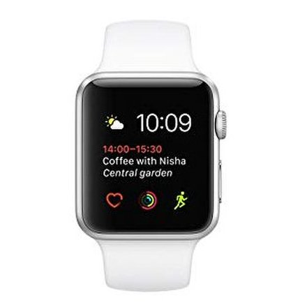 Apple Watch Series 2 38mm Silver Aluminium -Trieda B