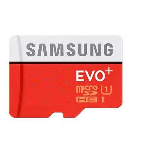 MicroSDHC karta SAMSUNG EVO Plus 256GB Class 10 + adaptér