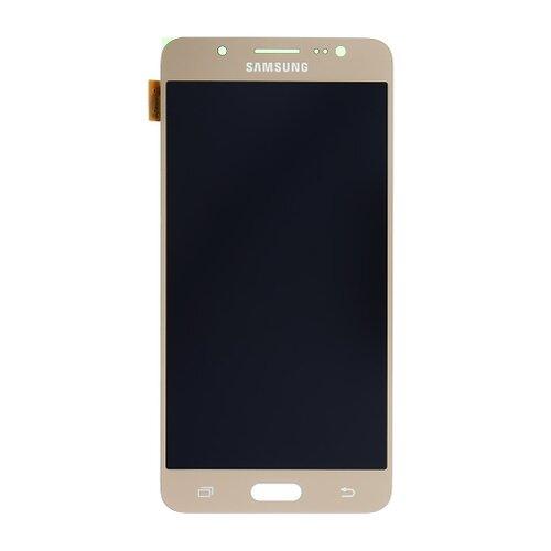 Samsung J510 Galaxy J5 2016 - LCD Displej + Dotyková Plocha - Zlatý