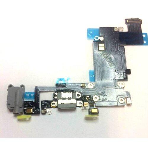 Apple iPhone 6S Plus - Flex Kábel Nabíjacieho Konektora - Čierny