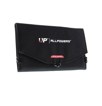 Allpowers AP-SP-014-BLA Solární Dobíječ 15W + 6000mAh PowerBank (EU Blister)
