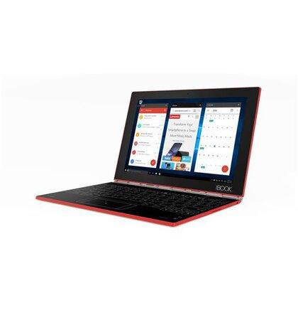 """Lenovo Yoga Book x5-Z8550 2.4GHz 10.1"""" FHD IPS Touch 4GB 128GB WL BT CAM W10 PRO cerveny 2yMI"""