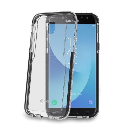 Zadný kryt CELLY Hexagon TPU pre Samsung Galaxy J5 (2017), čierny