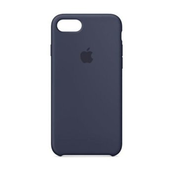 Apple iPhone 8/7 Silicone Case - Midnight Blue MQGM2ZM/A