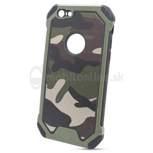 Puzdro Camouflage Army TPU Hard iPhone 8 - zelené