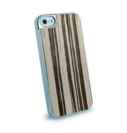Zadný kryt Dado Design New Wood pre Apple iPhone 5/5S/SE, motív White Brown