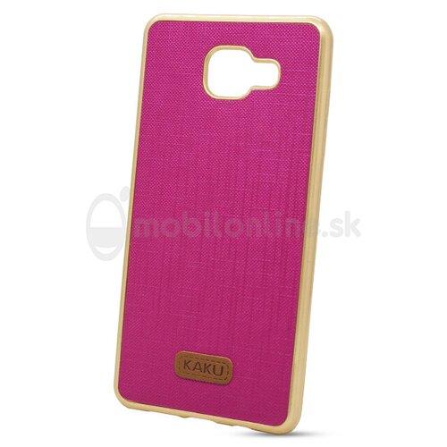 Puzdro Kaku Wall TPC/TPU Samsung Galaxy A5 A510 2016 - ružové