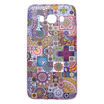 Gumené puzdro Samsung Galaxy J5 2016, vzor patchwork
