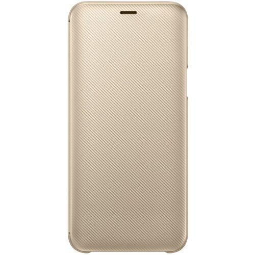 EF-WJ600CFE Samsung Folio Pouzdro Gold pro Galaxy J6 2018