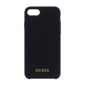 GUHCI8LSGLBK Guess Silicone Logo TPU Case Black pro iPhone 7/8/SE2020