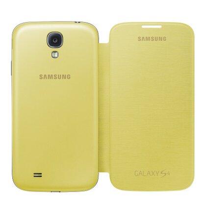 EF-FI950BYE Samsung Flip Pouzdro pro Galaxy S4 i9500/i9505/i9515VE žlté (EU Blister)