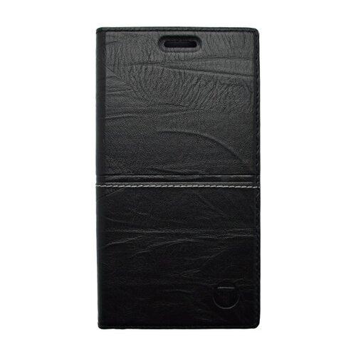 Puzdro Book Luxury Samsung Galaxy A3 2017 čierne