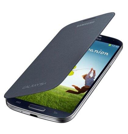 originál puzdro EF-FI950BBE na Samsung Galaxy S4 i9500/i9505/i9505i Čierne (Bulk)