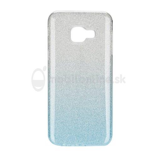 Puzdro 3in1 Shimmer TPU Samsung Galaxy A6 A600 - strieborno-modré