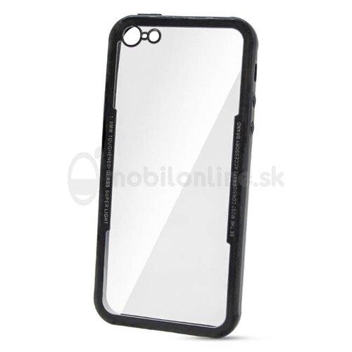 Puzdro Glass Tough TPU 1mm iPhone 5/5s - čierne