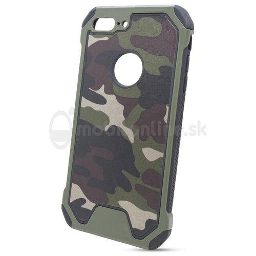 Puzdro Camouflage Army TPU Hard iPhone 7 Plus - zelené