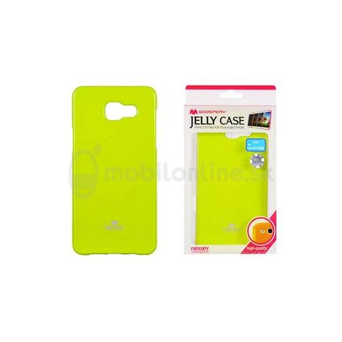 Puzdro Mercury Jelly TPU Samsung Galaxy A5 A510 2016 - limetkové