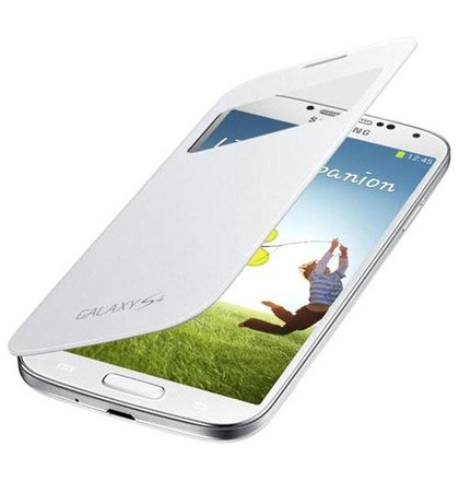 EF-CI950BWE Samsung Flip Pouzdro S-View pro Galaxy S IV (i9500) White