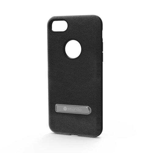 Puzdro Sturdo iPhone 7 plastové, čierne