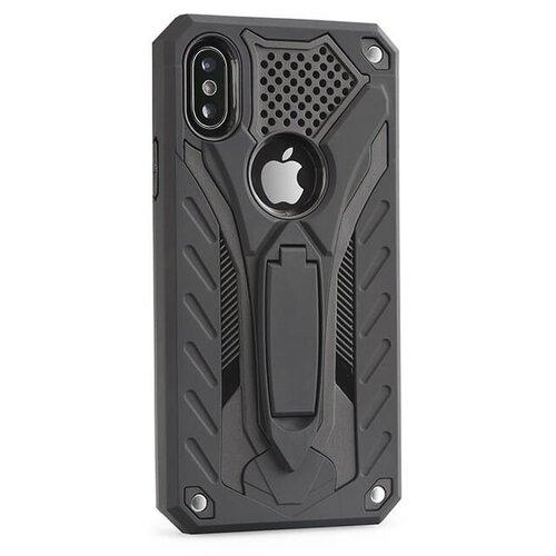 Puzdro Phantom Armor Hard iPhone 8 Plus/7 Plus - čierne