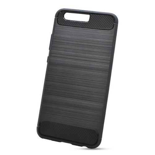 Puzdro Carbon Lux TPU Huawei P10 - čierne