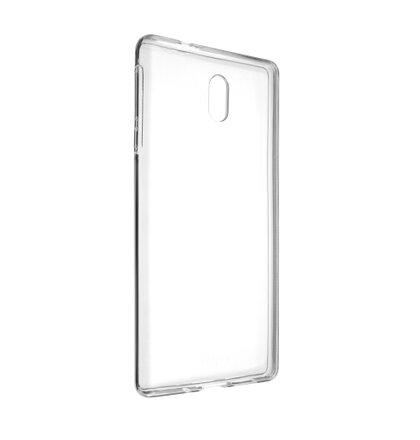 TPU gélové puzdro FIXED pre Nokia 3, číre