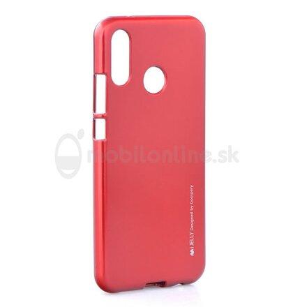 Puzdro Mercury i-Jelly TPU Huawei P20 Lite - červené