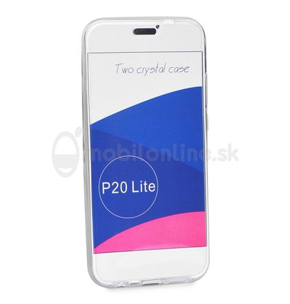 Puzdro Full Body 360 TPU Huawei P20 Lite - transparentné