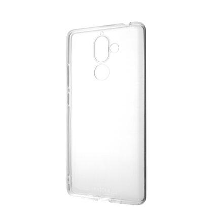 TPU gélové puzdro FIXED pre Nokia 7 Plus, číre