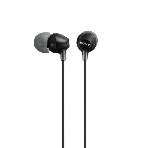 Sony MDR-EX15LP Slúchadlá Čierne
