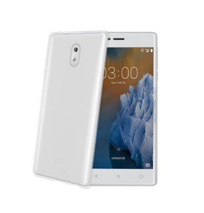 TPU púzdro CELLY Gelskin pre Nokia 3, bezfarebné