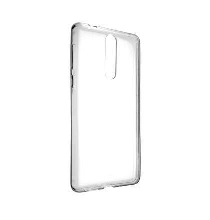 TPU gélové puzdro FIXED pre Nokia 8, číre