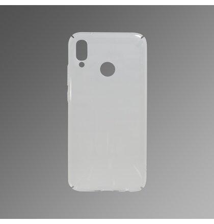 Hladké plastové puzdro Huawei P20 Lite priehľadné