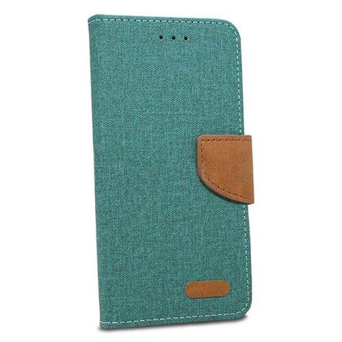 Puzdro Canvas Book Huawei P20 Lite - zelené