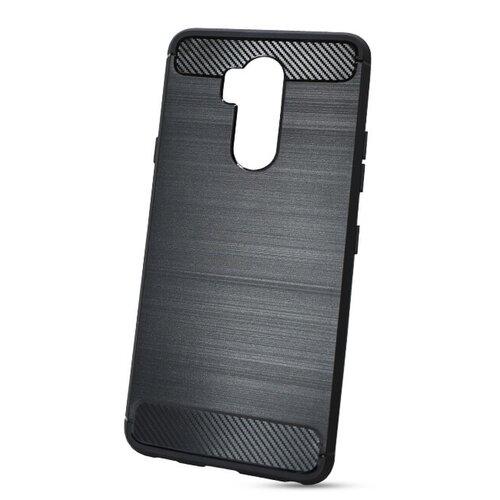 Puzdro Carbon Lux TPU LG G7 - čierne
