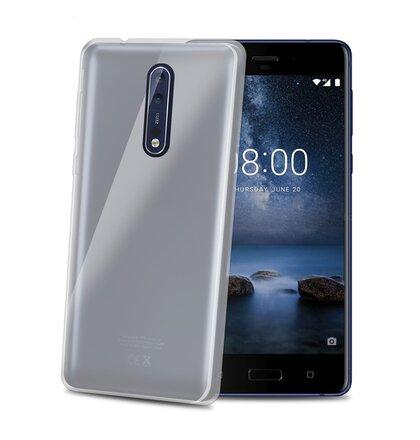 TPU púzdro CELLY Gelskin pre Nokia 8, bezfarebné