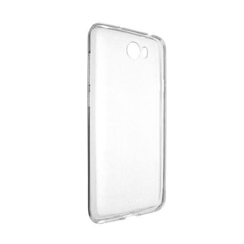 Ultratenké TPU gélové puzdro FIXED Skin pre Huawei Y6 II Compact, 0,6 mm, číre