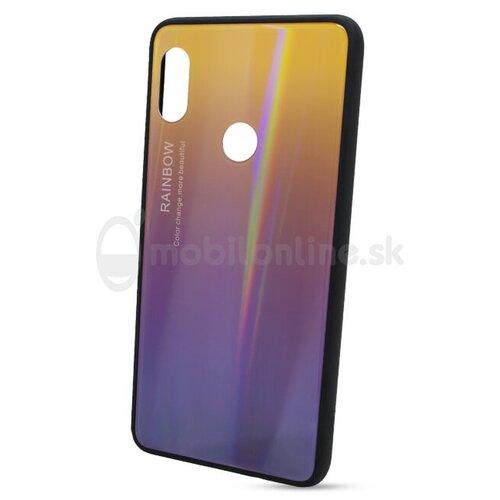 Puzdro Rainbow Glass TPU Xiaomi Redmi Note 5 - fialové